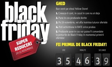 Fii pe faza Nikon Black Friday la Yellowstore!