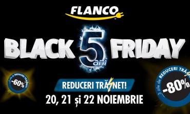 Black Friday la Flanco: reduceri de pana la 80% in Vinerea Neagra