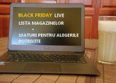 Black Friday: Sfaturi si cele mai bune reduceri la eMAG, Flanco, Altex si nu numai