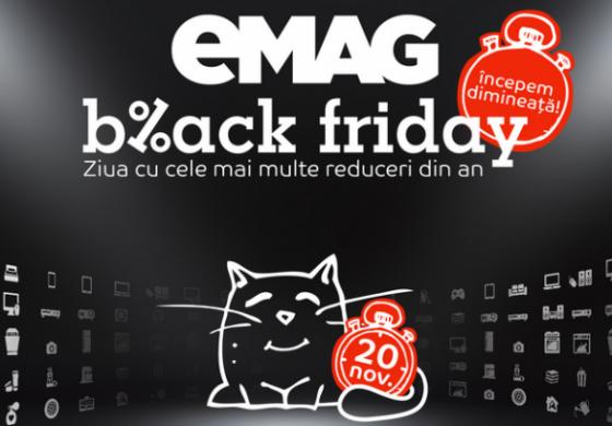 Black Friday: 20 de reduceri eMAG care merita banii