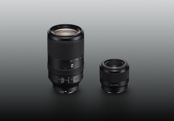 Sony extinde gama de obiective cu un 70-300mm si un 50mm