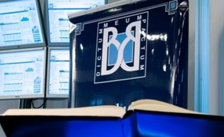 Bursa de Valori Bucuresti si-a injumatatit profitul net semestrial la 1,56 milioane lei