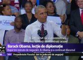 VIDEO   Lectie de diplomatie by Barack Obama