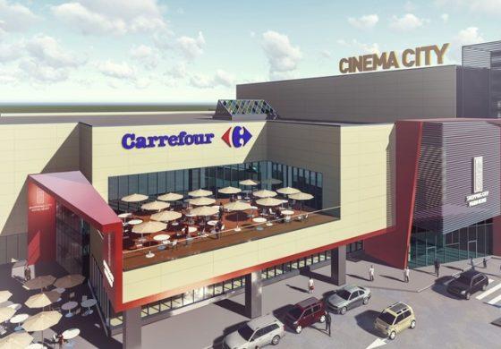 NEPI deschide pe 1 decembrie centrul comercial din Piatra-Neamț, care include un hipermarket Carrefour