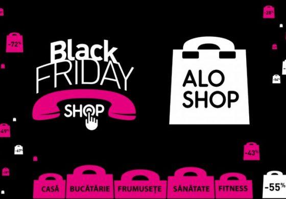 Profită de cele mai bune oferte TELESHOPPGING din an! Reduceri Black Friday de la AloShop
