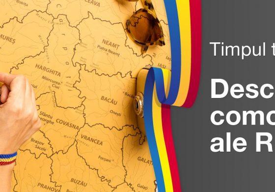 Harta Răzuibilă a României – Cadoul perfect de CENTENAR