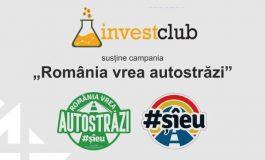 Comunitatea Invest Club se alătură campaniei #RomâniaVreaAutostrăzi