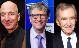 Pentru prima dată în istorie, lumea are 3 oameni cu averi de peste 100 miliarde dolari!