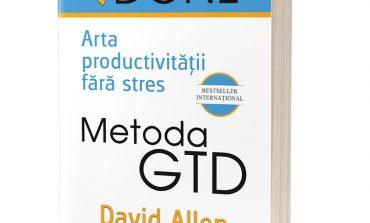 #cărți: Metoda GTD – Arta productivității fără stres (print, audio, ebook)