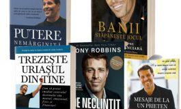 Pachet cărți Tony Robbins - 5 Cărți din care oricine are ceva de învățat