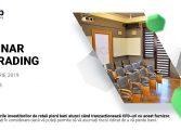 Seminar de Trading realizat de XTB, broker autorizat și reglementat