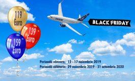 Black Friday la Tarom de astăzi bilete ieftine și reduceri până în vinerea neagră