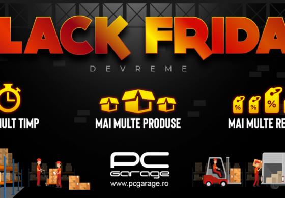 PC Garage începe campania de Black Friday