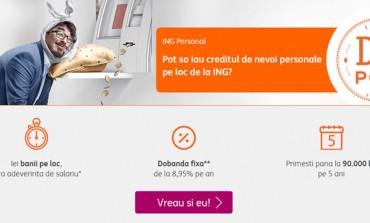 Cum iei un credit de nevoi personale de la ING?
