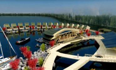 Prima statiune exotica din Romania: Sat plutitor, peisaj de poveste - FOTO & VIDEO
