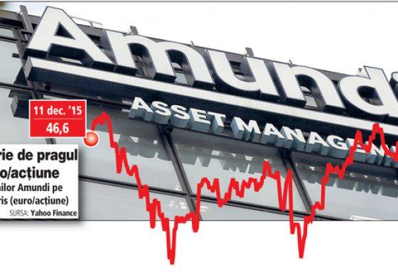 Amundi, de doar un 1 la bursa, va deveni al optulea cel mai mare manager de investitii din lume, cu active de 1.270 mld. euro, dupa ce cumpara Pioneer