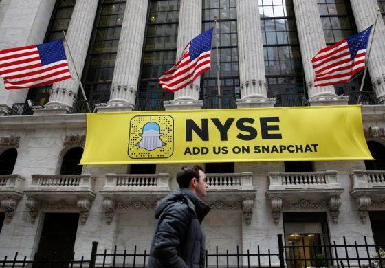 Snapchat, a inceput tranzactionarea in SUA la 25 de dolari pe actiune, cu 48% peste pretul din IPO