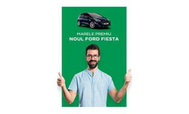 Ia un împrumut si poti câstiga Noul Ford Fiesta sau trei premii a câte 5.000 de lei