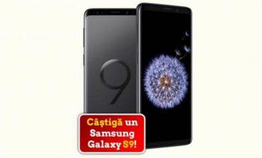 Câştigă un smartphone Samsung Galaxy S9
