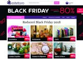Esteto oferă reduceri de până la 80% la cosmetice, cărţi, parfumuri și ceasuri