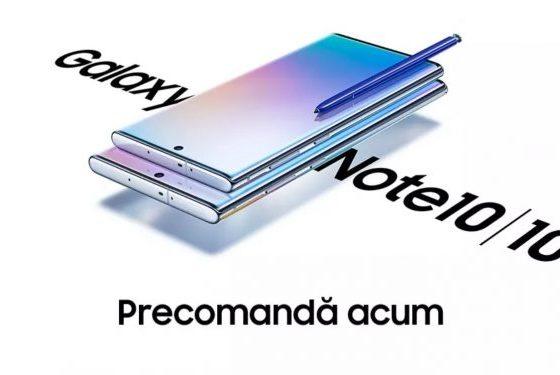 START la comenzi pentru Samsung Galaxy Note 10 și Note 10+!