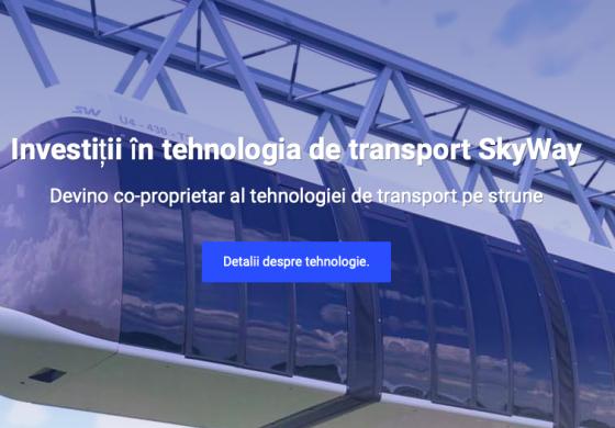 Castiga bani cu SkyWay tehnologia de transport a viitorului