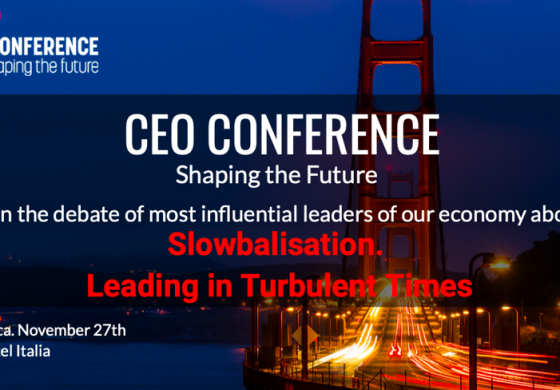 "Eveniment CEO Conference: Cluj Napoca – Shaping the Future ""Slowbalization: How to redesign the organization of the future"""