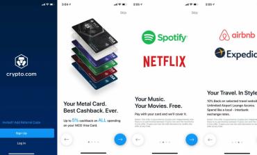 Crypto.com oferă Spotify și Netflix gratuit cu cardul lor Visa plus 10% la AirBNB și Expedia