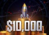 Bitcoin a ajuns din nou la peste 10.000 de dolari bucata