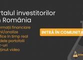 Portalul Investitorilor din România se lansează o dată cu promovarea Bursei la statutul de Piață Emergentă