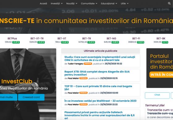 InvestClub.ro – Tot ce ai nevoie pentru a deveni investitor la bursă!