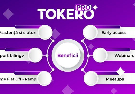 Exchangeul de criptomonede TOKERO lansează de azi programul de fidelitate TOKERO PRO!